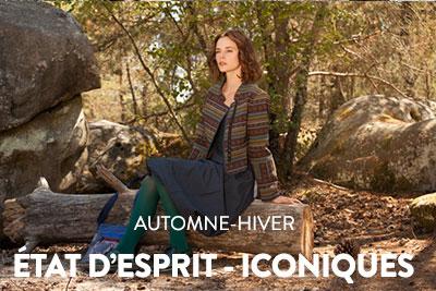 État d'Esprit - Iconiques - Collection par Nid d'Abeille - prêt-à-porter pour femmes