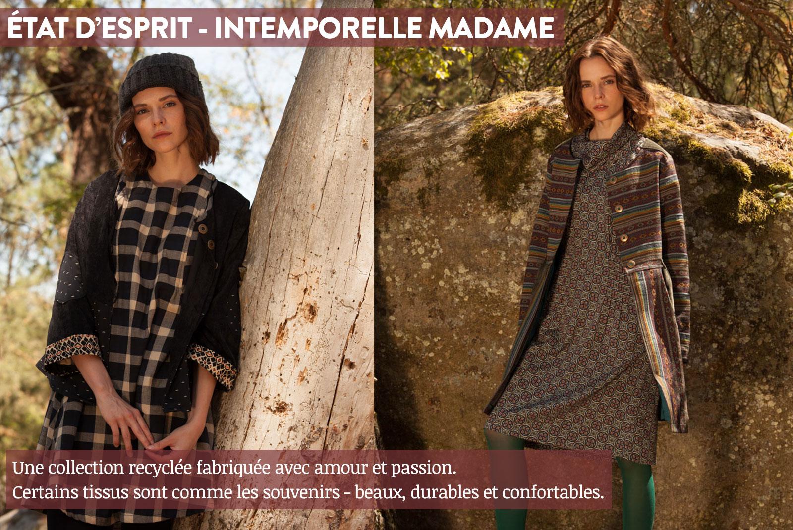 Nid d'Abeille Etat d'Esprit - Intemporelle Madame Lookbook