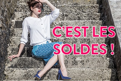Soldes - Sales - Nid d'Abeille