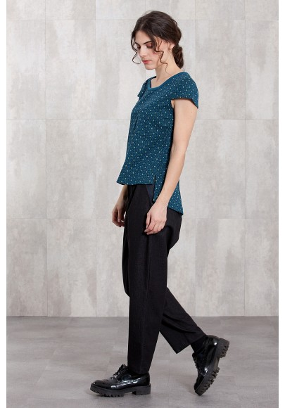 TOP KNITTED JACQD-MUSE-10