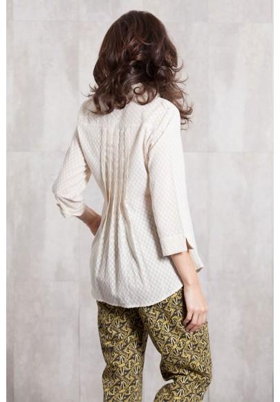 Blouse Jacquard coton 635-15