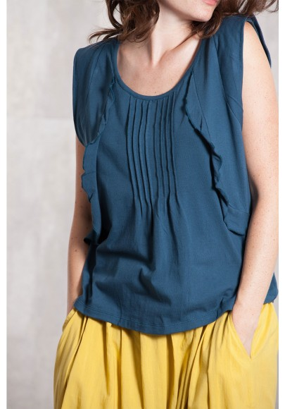 Top Jersey coton 635-23-Ardoise