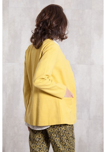 Jacket coton 635-61-yellow