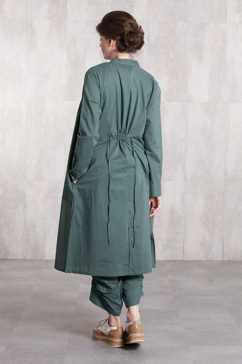 Dress Coat coton voil  -635-62-kaki