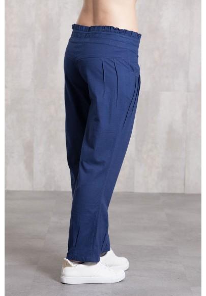 Pantalon slub coton 635-42