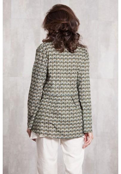 Jacket  coton jersey digital print-630-93