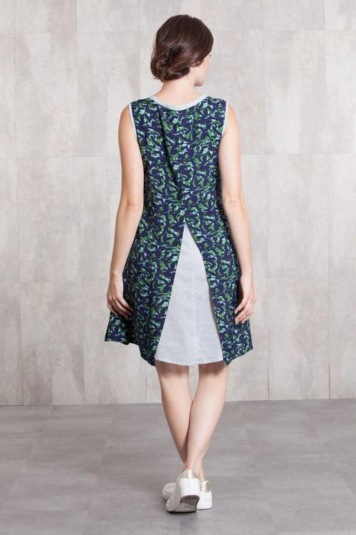 Dress  tunik viscose  digital print-632-812