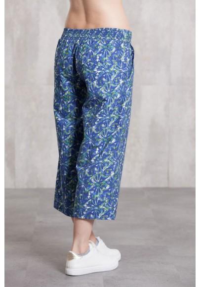 Pant coton poplin digital print -632-43