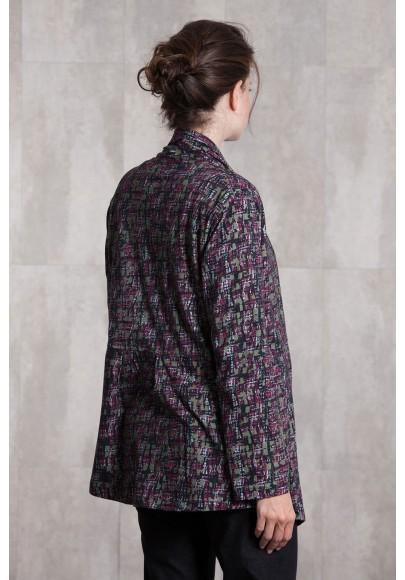 Veste jersey de coton imprimée digitale-633-93