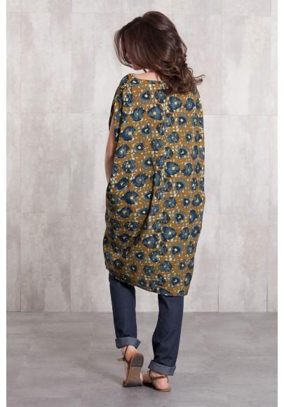 Dress viscose  digital print-634-72