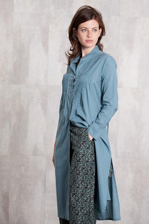 Manteaux en voile de coton 635-62