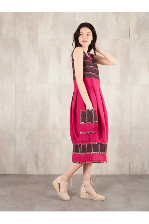 Dress in linen Armelle 441-70