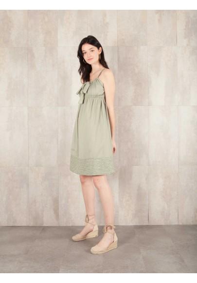 Dress Aude coton stripe 8410