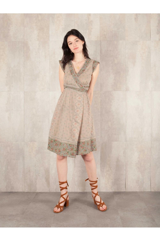 Dress Penelope coton print  8407