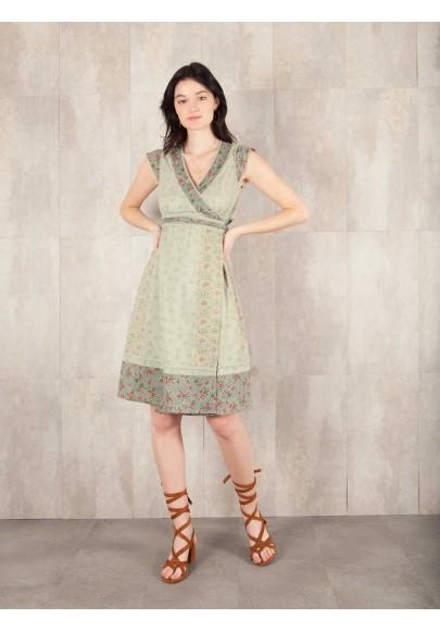 Robe Penelope coton imprimée 8407