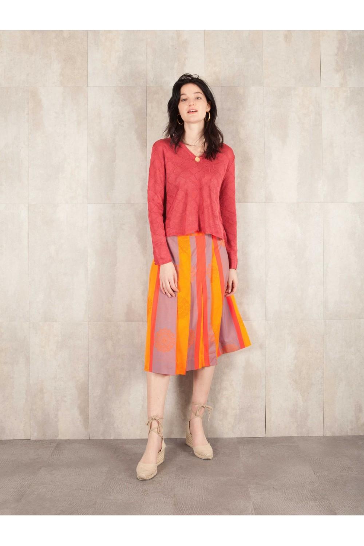 Skirt Augustine coton jacqd 464-30