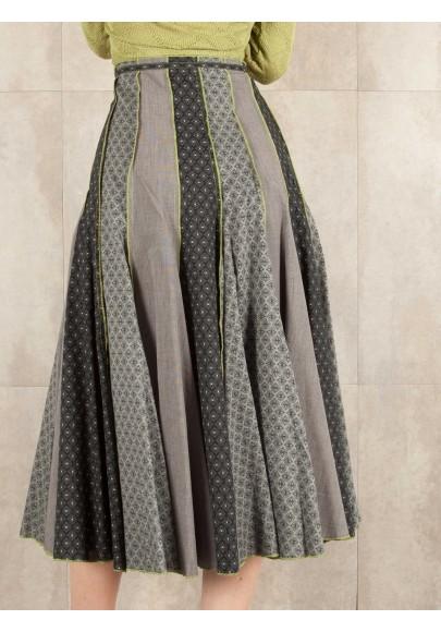 Skirt Belena coton imprimée 522-31