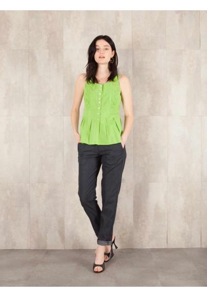 Pantalon Bertille  jean stretch 612-40740JS