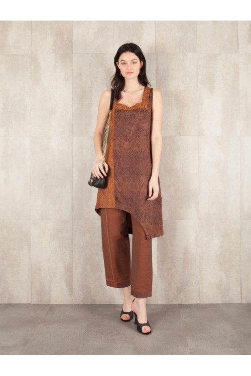 Dress Clarabelle jacqd froissé 4811-11