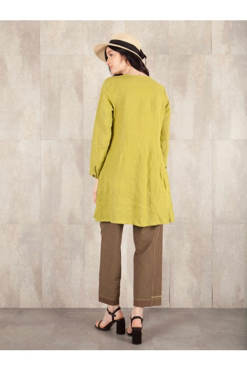 Veste tunique Carola crack look linen 580-60