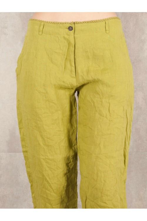 Pant Eglantine crack look linen 580-42