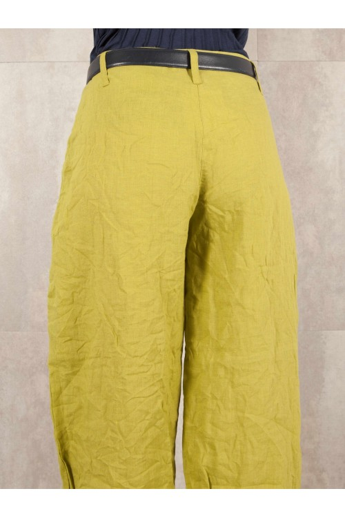 Pant Edith crack look linen 580-41