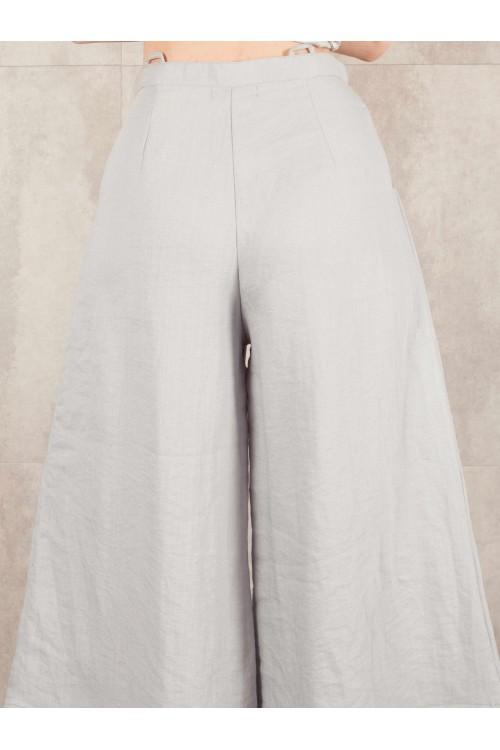 Pantalon large Egra lin viscose 524-40