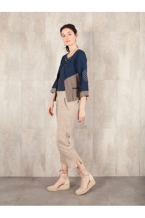 Pantalon Eglantine crack look lin 580-42