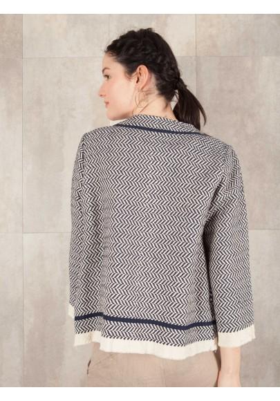 Veste Bafia coton tapistry