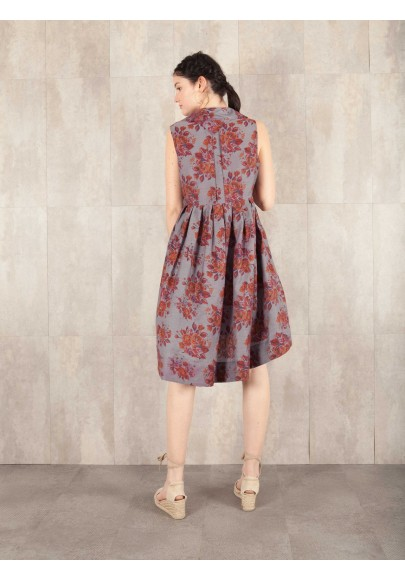 Dress Dany-1 viscose print