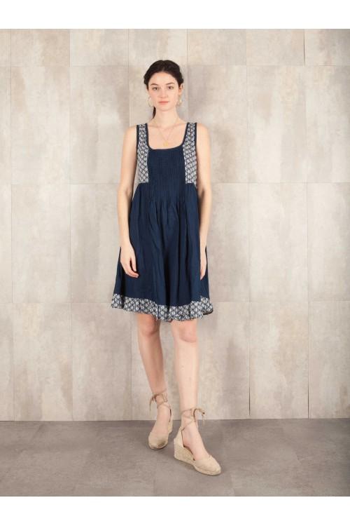 Tunik Dress Printed Coton 585-77