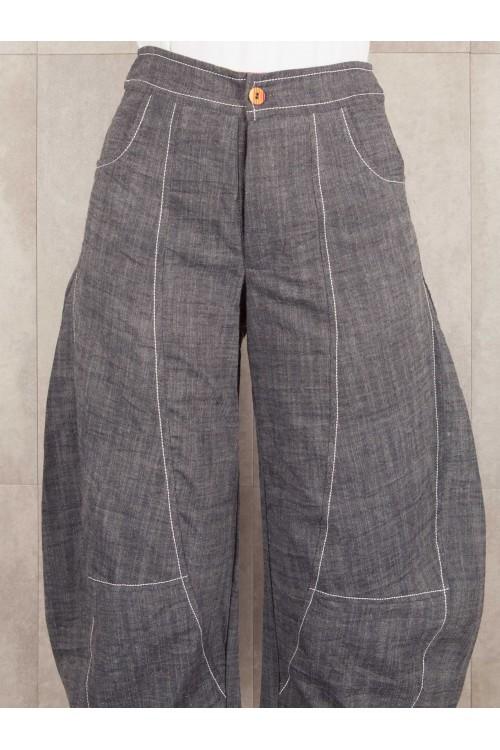 Pant Mauline crush look jean coton 520-40