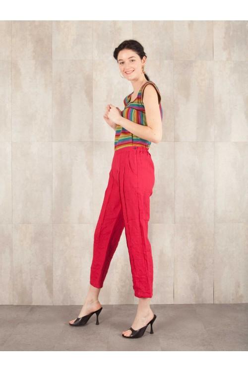 Pantalon Piérrine  crack look lin 580-43