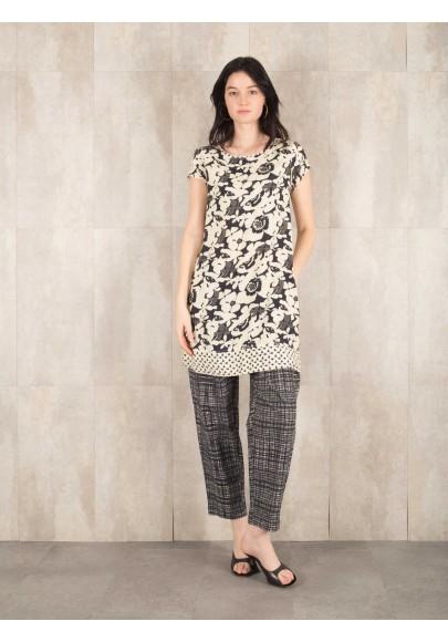 Dress Philinda digital print  viscose 639-70