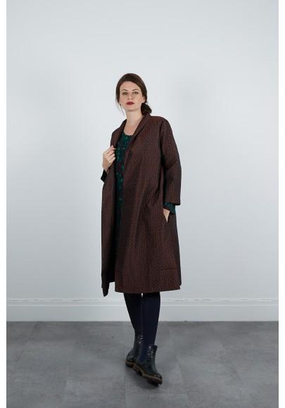 620-71 Robe Tunique viscose imprimée digitale