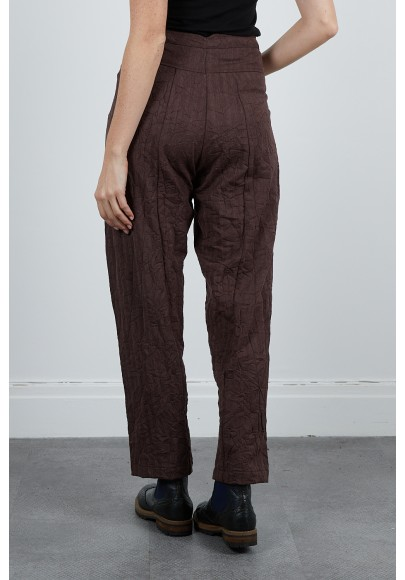 514-42 Pantalon froissé