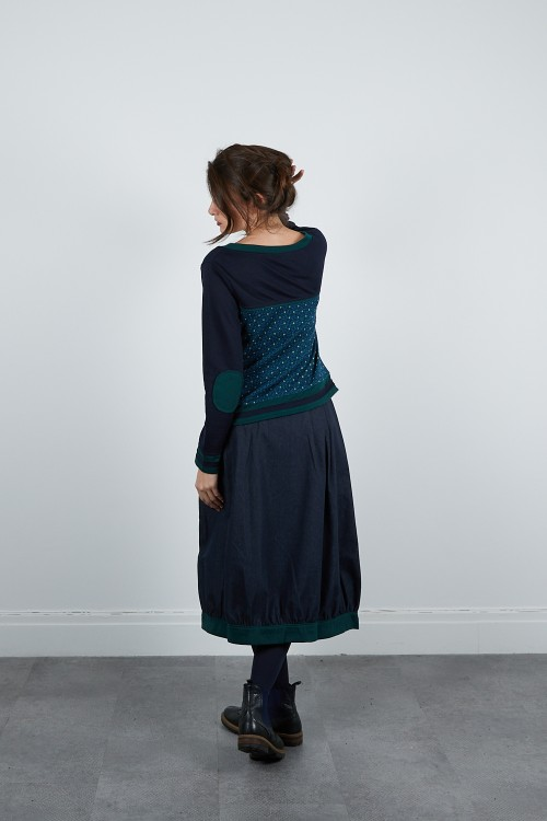 590-212 Pull maille jacquard