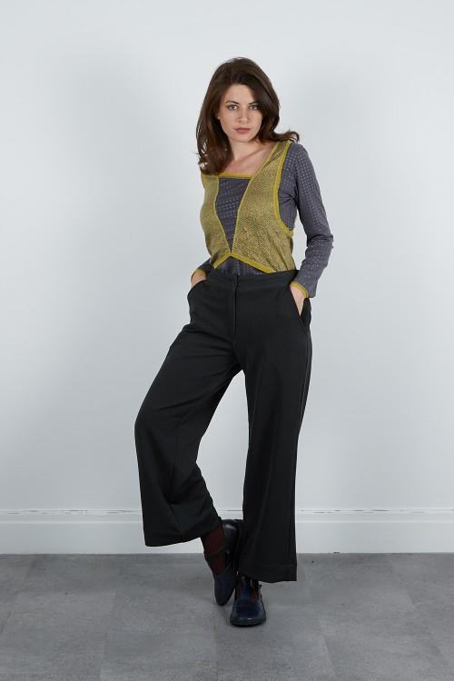 640-43 Pantalon smocké dos