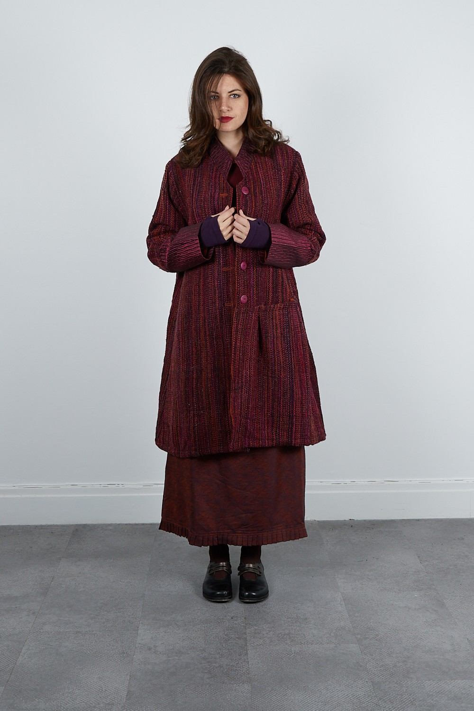 413-60 Manteaux laine tweed