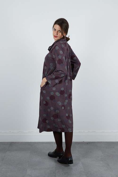 620-710 Robe jersey imprimée