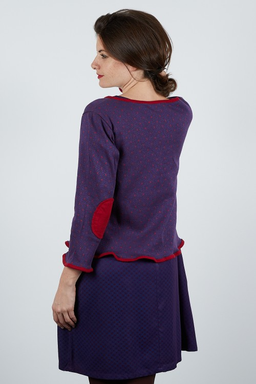 MUSE-20 Pull maille jacquard