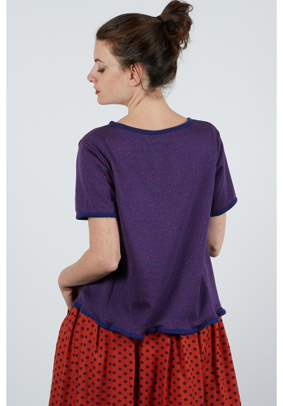 590-26 Pull maille jacquard