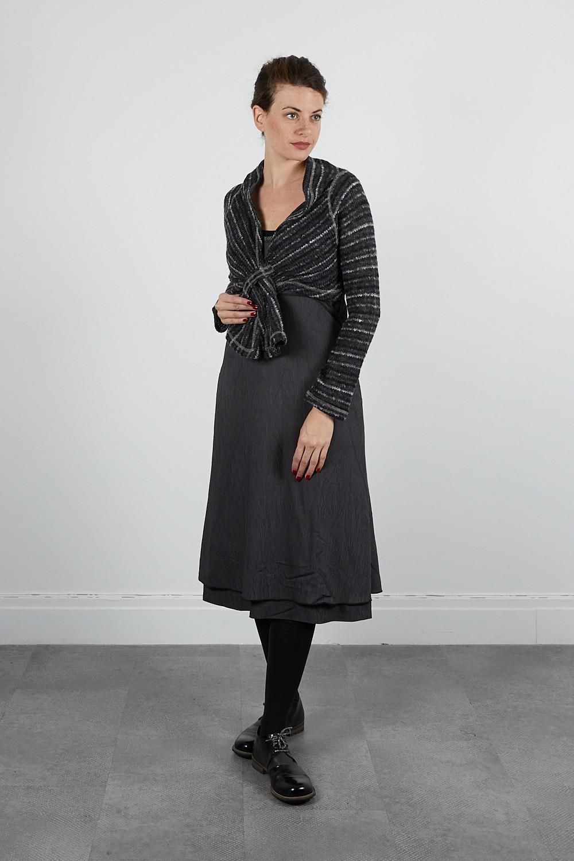 474-71 Robe longue froissée