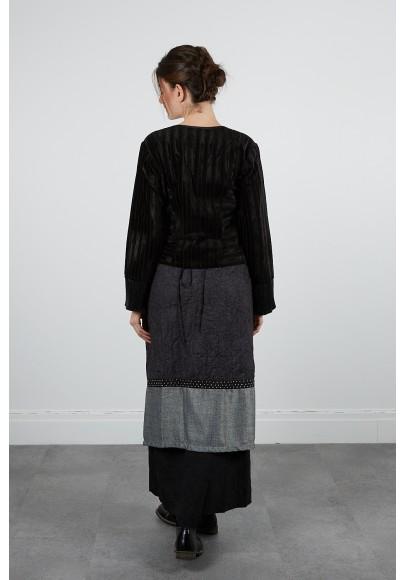 377-11 Blouse tapistry velours