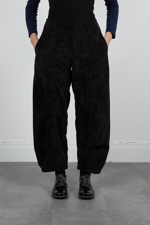 MUSE-40 Pantalon large velours