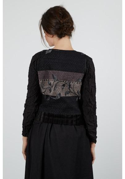 398-63 Gilet tapistry