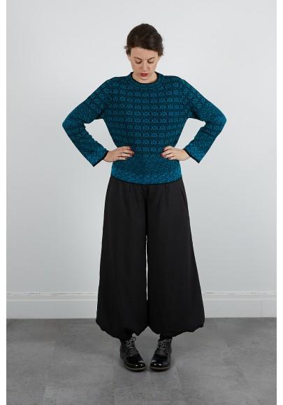 474-40 Pantalon polyester surpiqué