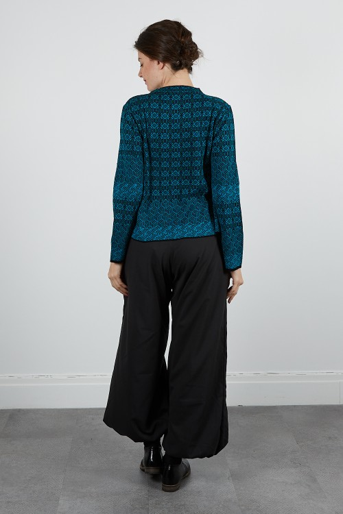 4714-10 Pull maille jacquard