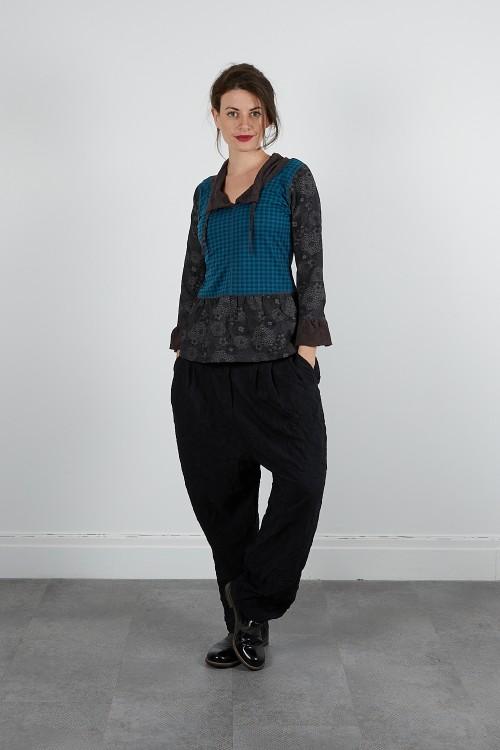4811-43 Pantalon froissé polyester