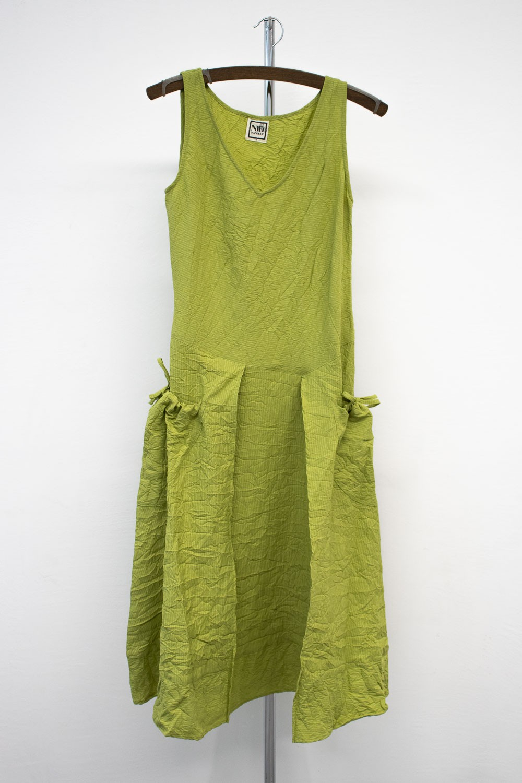 Robe Longue tissée rayée 5410/72